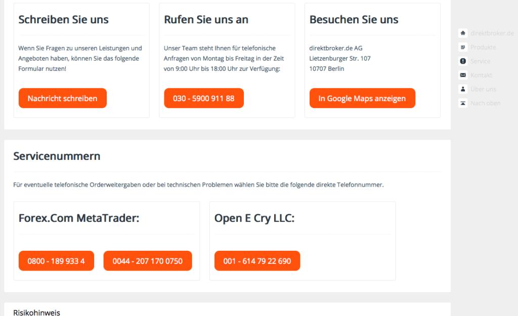 direktbroker-de-übersicht-kontaktdaten