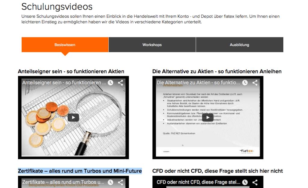 flatex-webinare