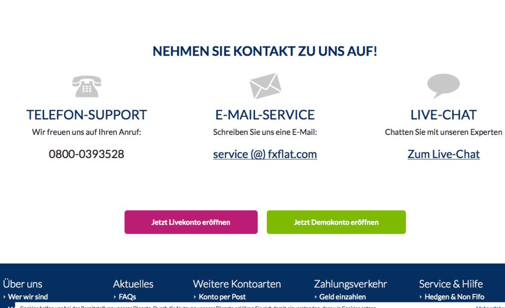 fxflat-übersicht-kontaktdaten