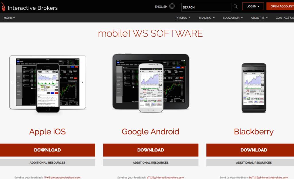 interactivebrokers-übersicht-apps-mobile