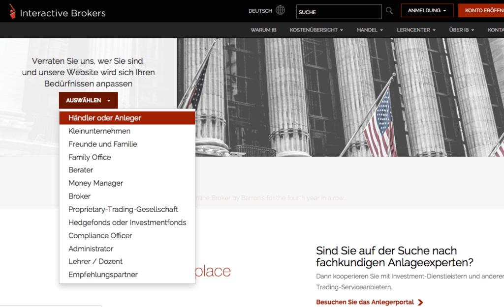 interactivebrokers-übersicht-kontomodelle