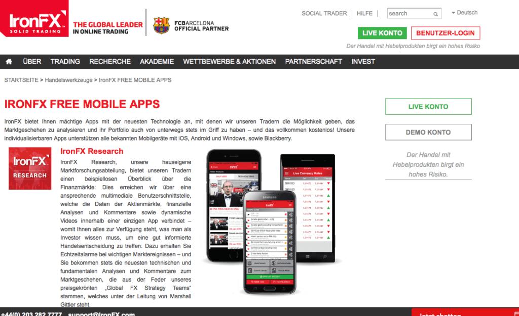 ironfx-übersicht-apps-mobile