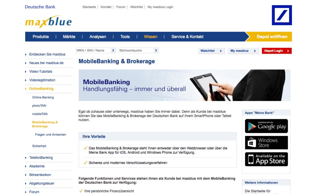 maxblue-übersicht-apps-mobile