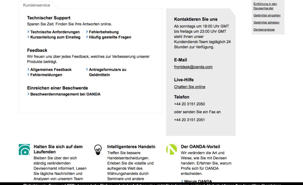 oanda-übersicht-kontaktdaten