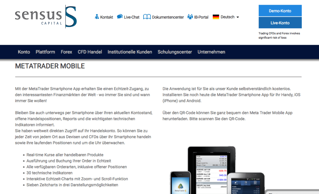 sensus-capital-übersicht-apps-mobile