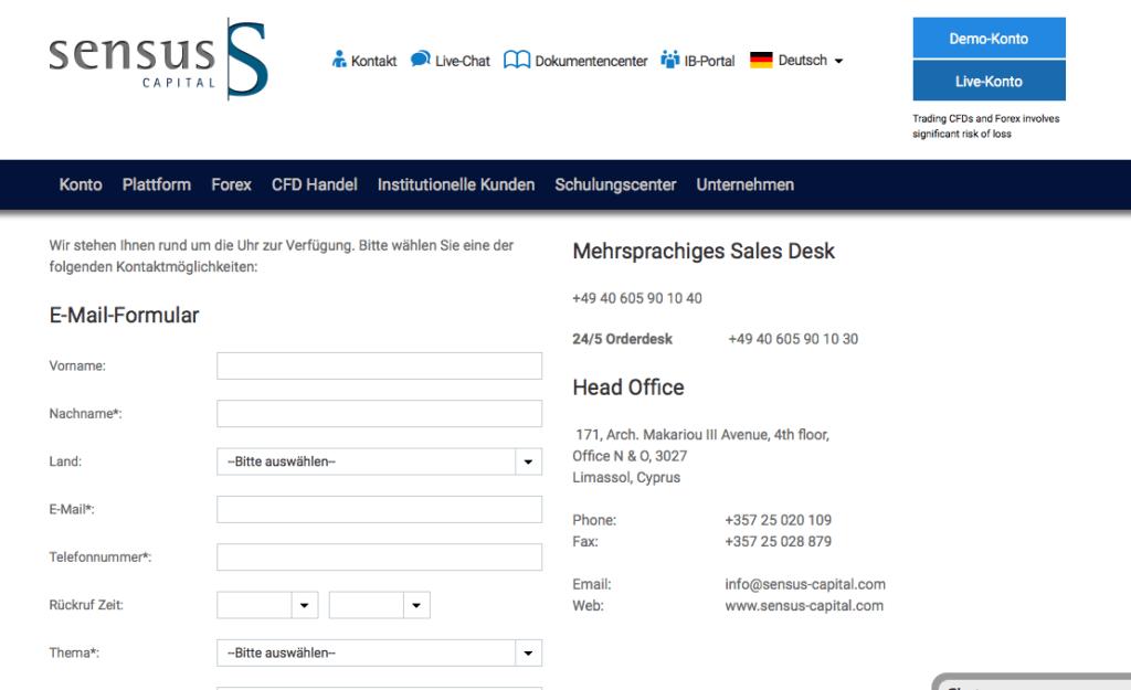 sensus-capital-übersicht-kontaktdaten