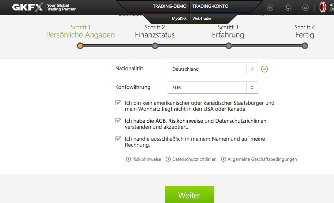 GKFX Anmeldung 3