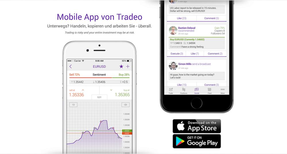 Tradeo App
