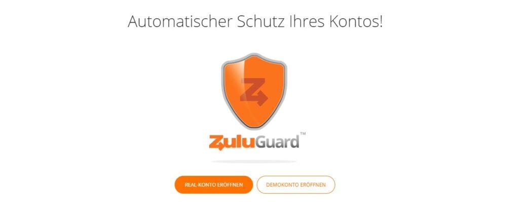 Zulutrade bietet den ZuluGuard zu Ihrem Schtuz an